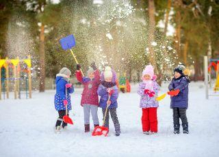 WF na śniegu