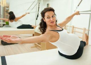 ćwiczenia, gimnastyka, ciąża, sport
