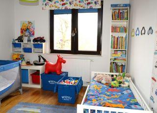 więcej miejsca, porządek, pokój dziecięcy
