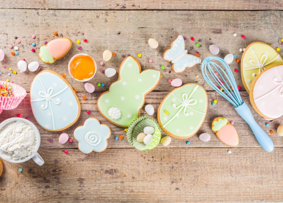 wielkanocne ciasteczka dla dzieci