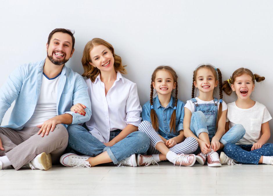 Wielodzietna rodzina