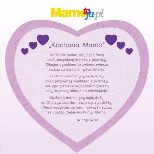 Wiersze dla mamy jako piękne życzenia na Dzień Matki [Gotowe do ...