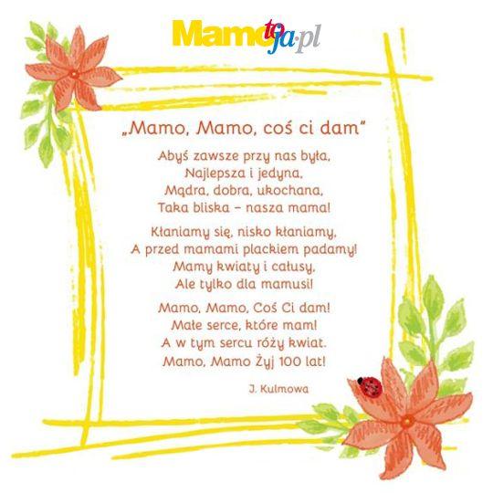 Wiersze Na Dzień Matki Znane Wierszyki I Teksty Poetyckie