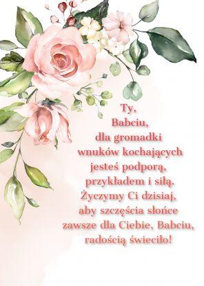 wierszyki na dzień babci - wierszyk 1