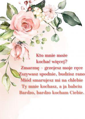 wierszyki na dzień babci - wierszyk 4
