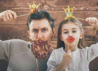 więź taty z córką
