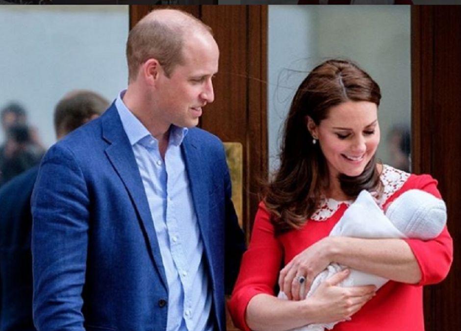 William i Kate pokazali zdjęcie trzeciego dziecka