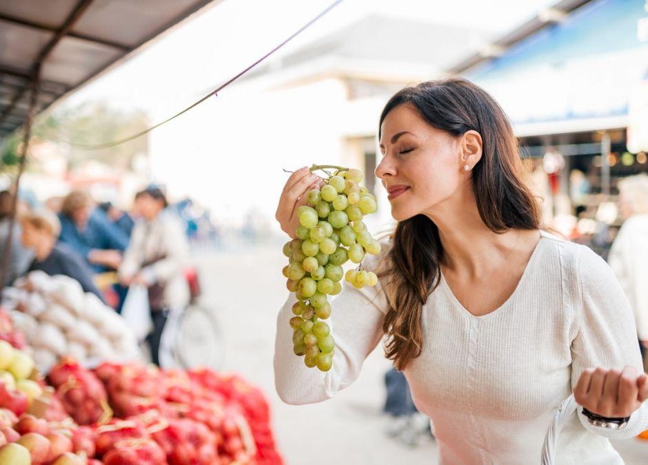 winogrona a karmienie piersią
