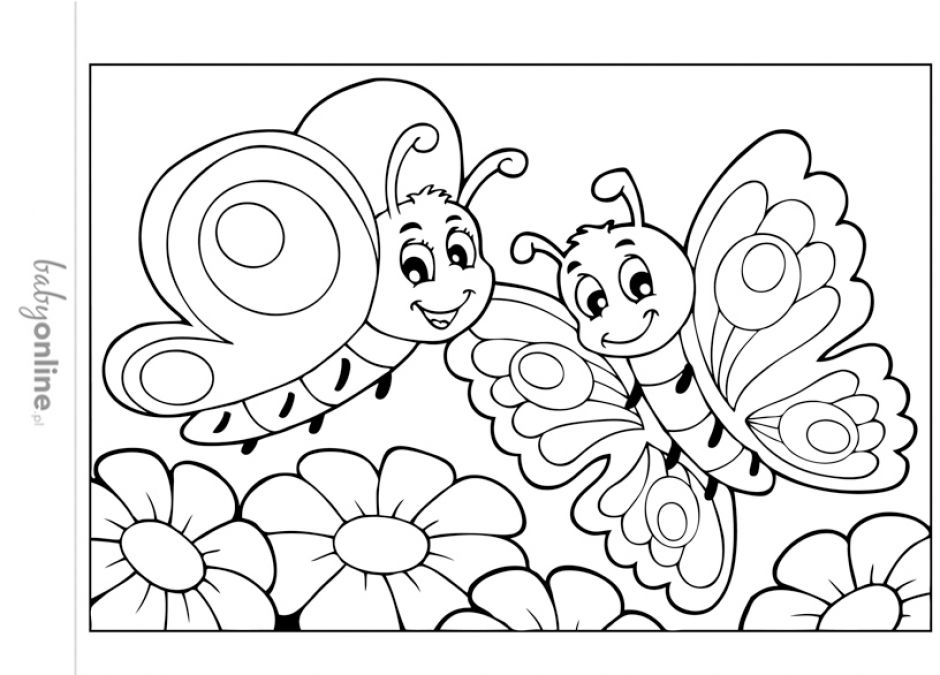 Wiosenne Kolorowanki Dla Dzieci Do Druku Strona 11 Mamotojapl