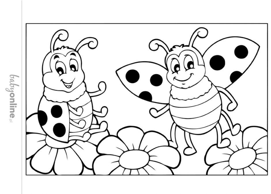 Wiosenne Kolorowanki Dla Dzieci Do Druku Strona 4 Mamotojapl