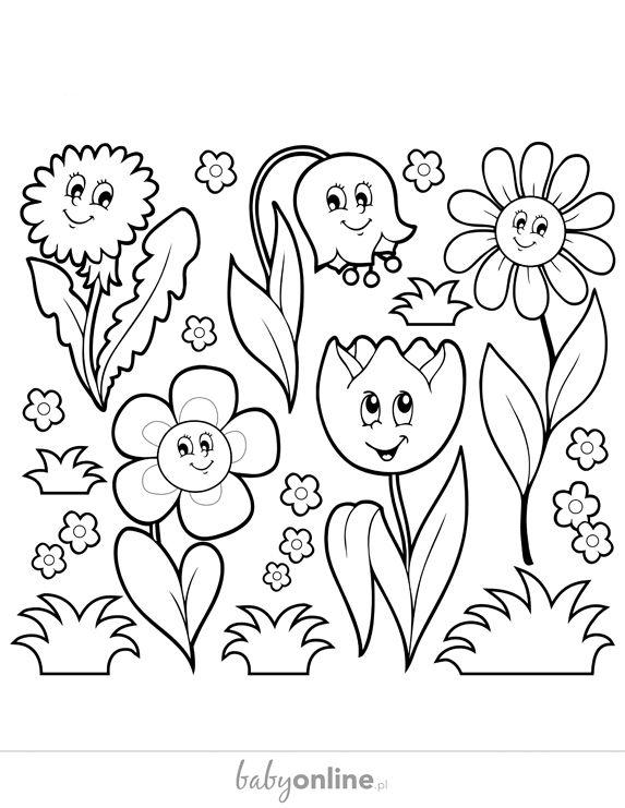 Wiosenne Kolorowanki Dla Dzieci Do Druku Strona 8 Mamotojapl