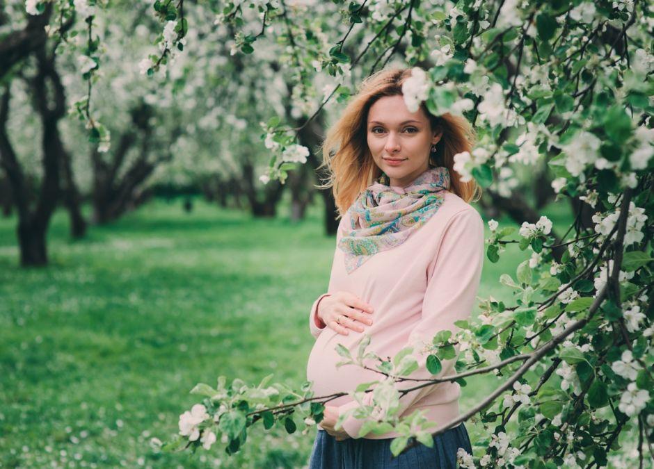 wiosenny wyjazd w ciąży