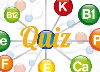 Witaminy i składniki mineralne - quiz wiedzy