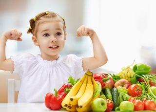 witaminy w diecie dziecka