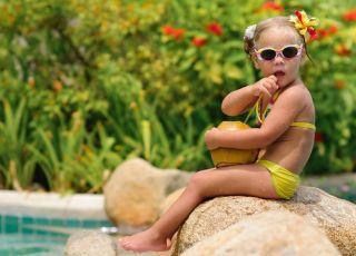 Wójcik Fashion, stroje kąpielowe dla dzieci, strój kąpielowy, dziewczynka