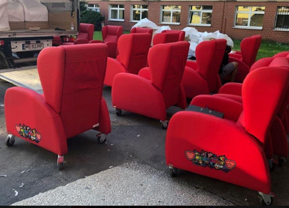 WOŚP zakupił fotele dla rodziców