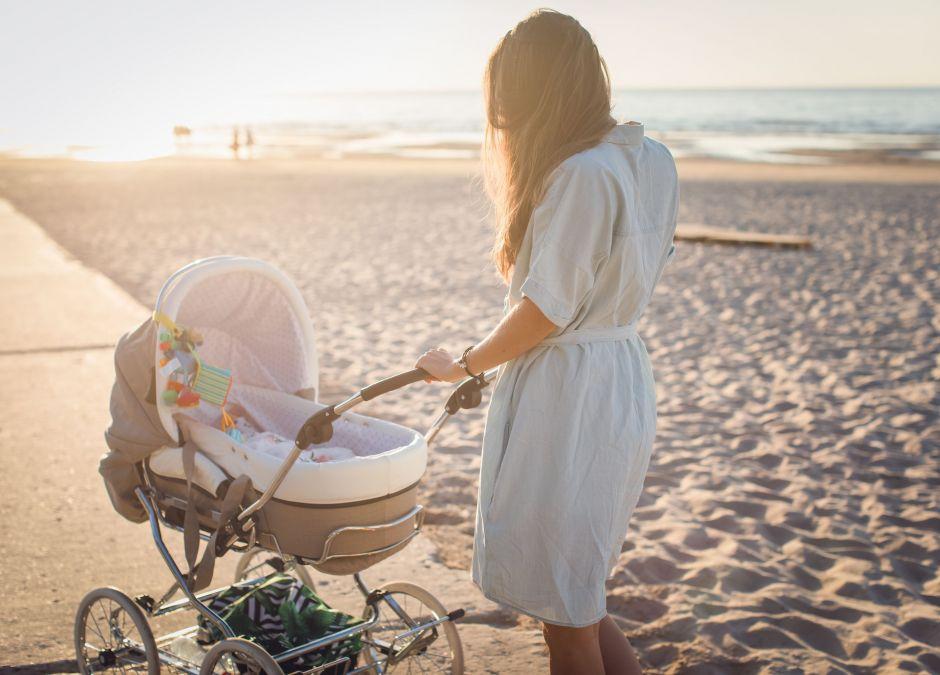 wózek dla niemowlaka, wózek dla dziecka