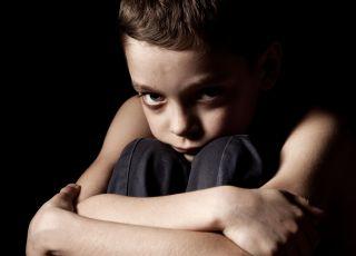Wściekły chłopiec