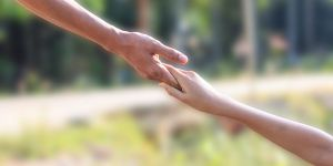 wsparcie, pomocna dłoń