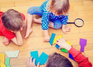 wspólna zabawa, nauka przegrywania
