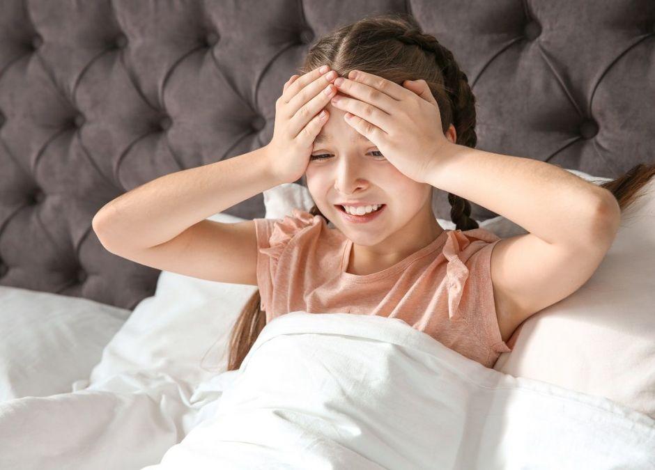 wstrząs mózgu u dziecka