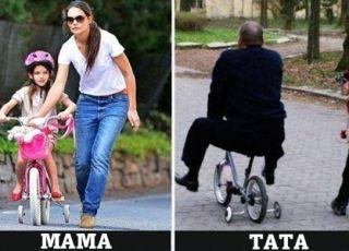Wychowanie okie mamy i taty