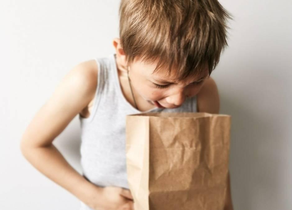 wymioty u dziecka