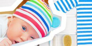wyprawka dla noworodka - pielęgnacja ciała i włosów - lista do druku