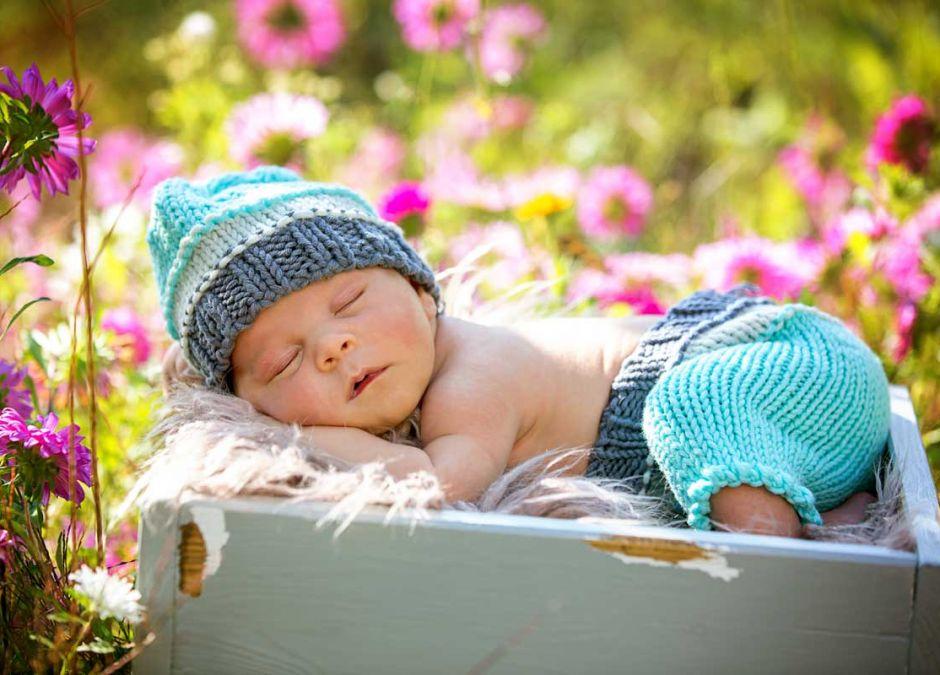 Wyprawka dla noworodka urodzonego latem