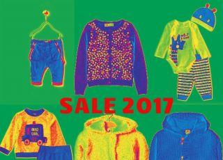 wyprzedaże ubranka dla dziecka 2017