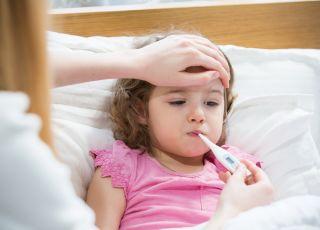 Wysoka gorączka u dziecka