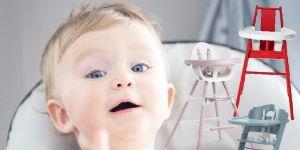 wysokie krzesełko dla dziecka