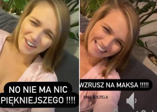 Wzruszona Agnieszka Kaczorowska