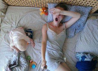 Yuliya Skorobogatova selfie dzień matki
