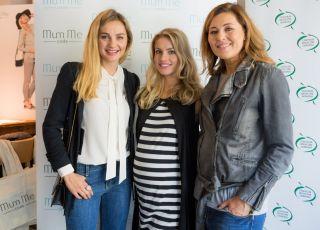 Małgorzata Socha, Beata Sadowska i modelka prezentująca zwycięski projekt w konkursie MumMe Code i Babyonline.pl
