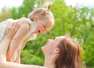 zabawa, dziecko, dziewczynka, mama, kobieta