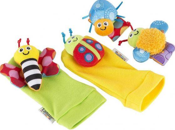 Zabawki dla 3-miesięcznego dziecka - grzechotki dla niemowlaka
