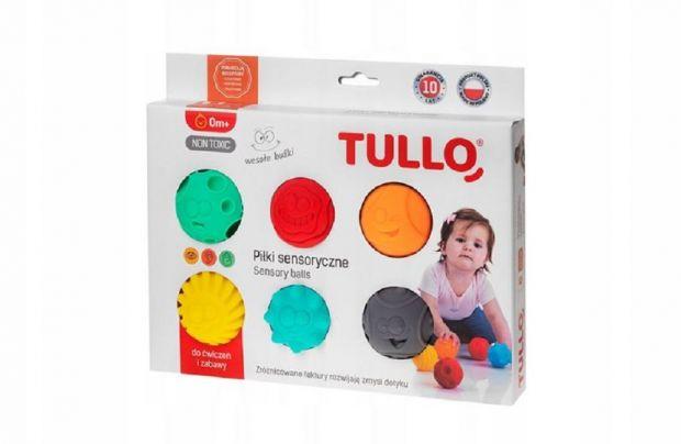 Zabawki dla 3-miesięcznego dziecka - piłki sensoryczne