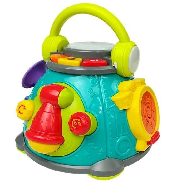 Zabawki dla 3-miesięcznego dziecka - bębenek