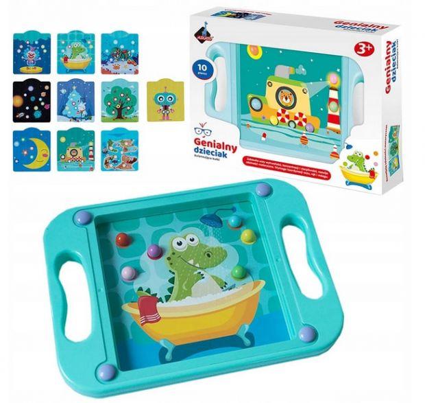 zabawki edukacyjne dla 3 latka gra z kulkami