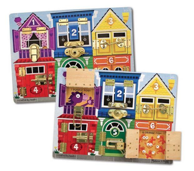 zabawki edukacyjne dla 3 latka tablica z zamkami