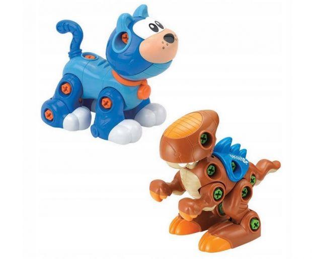 zabawki edukacyjne dla 3 latka rozkręcane zwierzeta