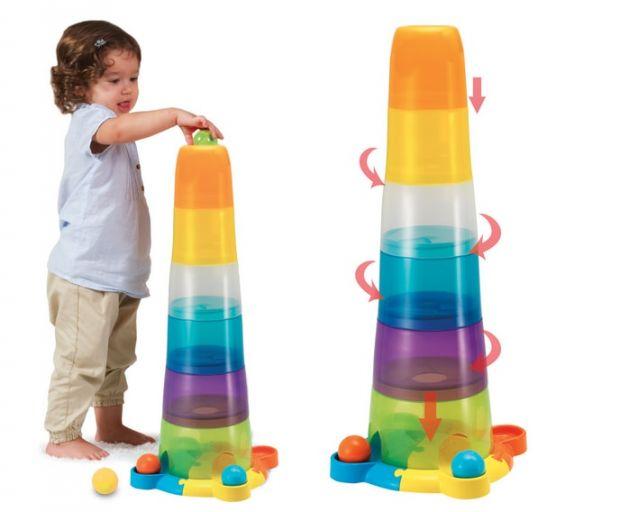 wieża smily dla rocznego dziecka