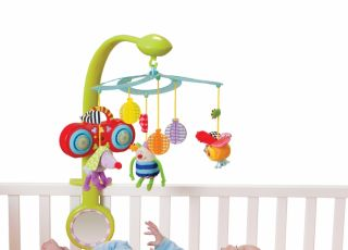 zabawki, karuzelka, mp3