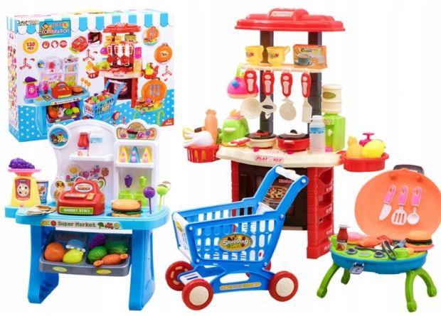 kuchnia sklepik kawiarenka zabawki dla dzieci