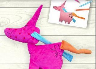 Zabawki z rysunków dzieci