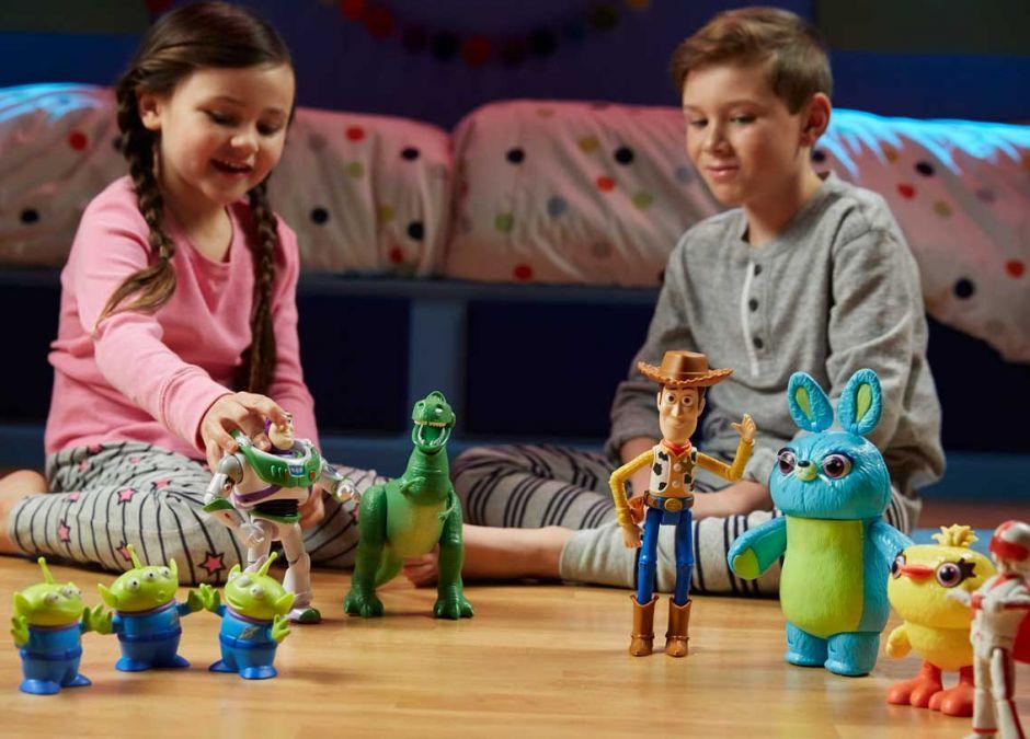 Zabawki z Toy Story 4