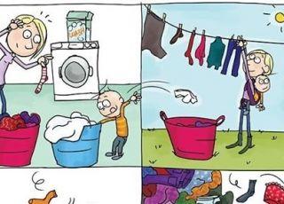 Zabawna seria komiksów o macierzyństwie