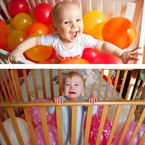 Zabawne wersje popularnych zdjęć z udziałem dzieci