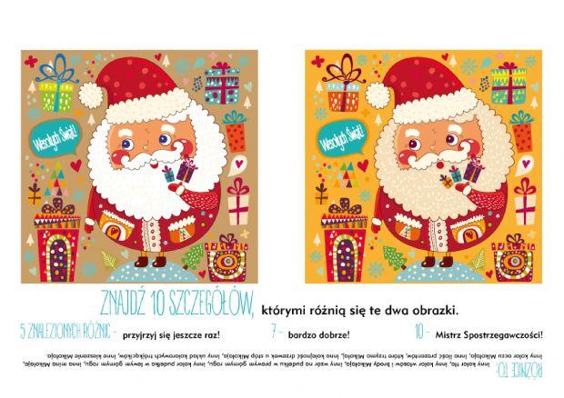 Zagadka bożonarodzeniowa z Mikołajem